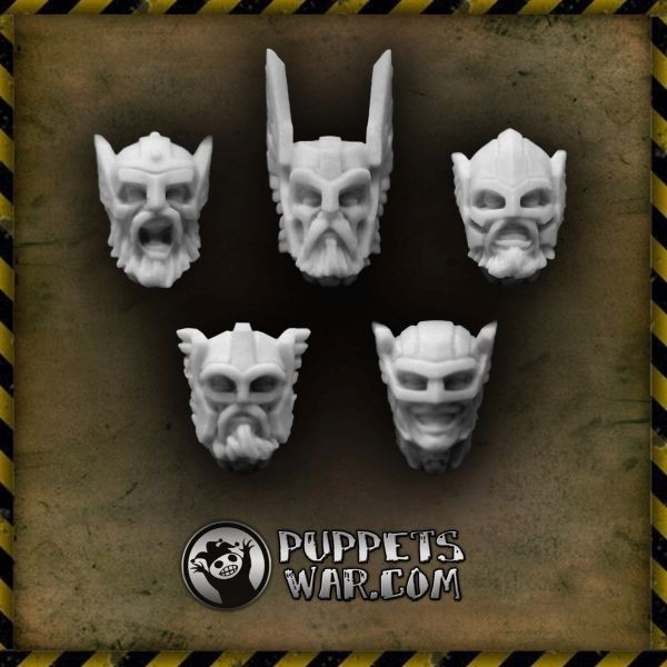 Valhalla Champions heads