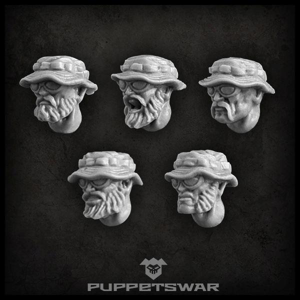 Guerilla heads