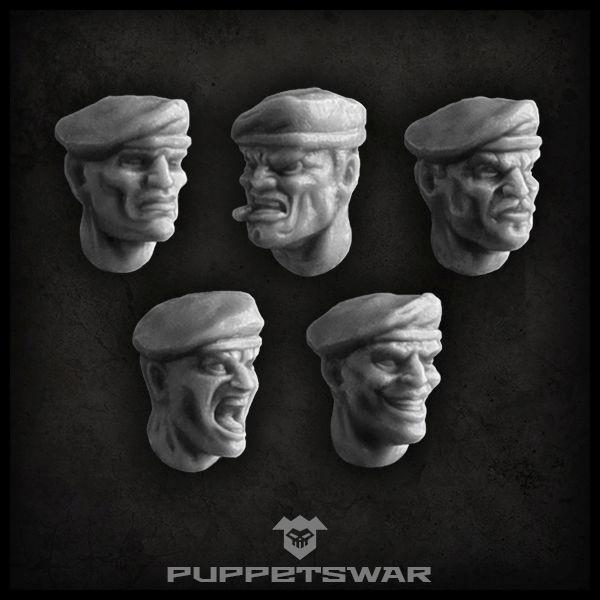 Beret heads