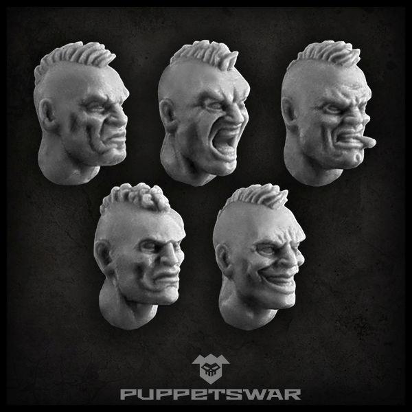 Mohawk Heads