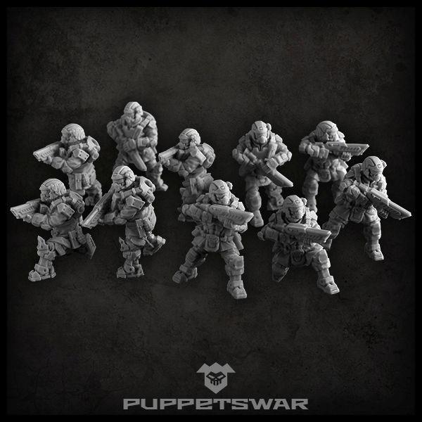 Elite troopers