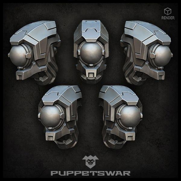 Drone Warrior Heads