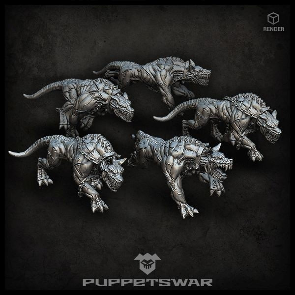 Barghest Hounds pack