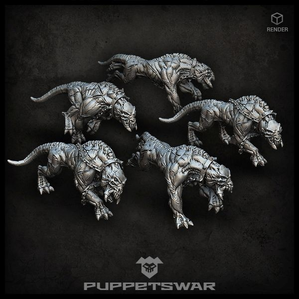 Barghest Predators pack