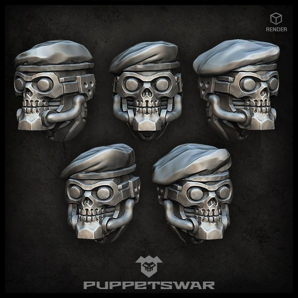 Beret Reapers heads
