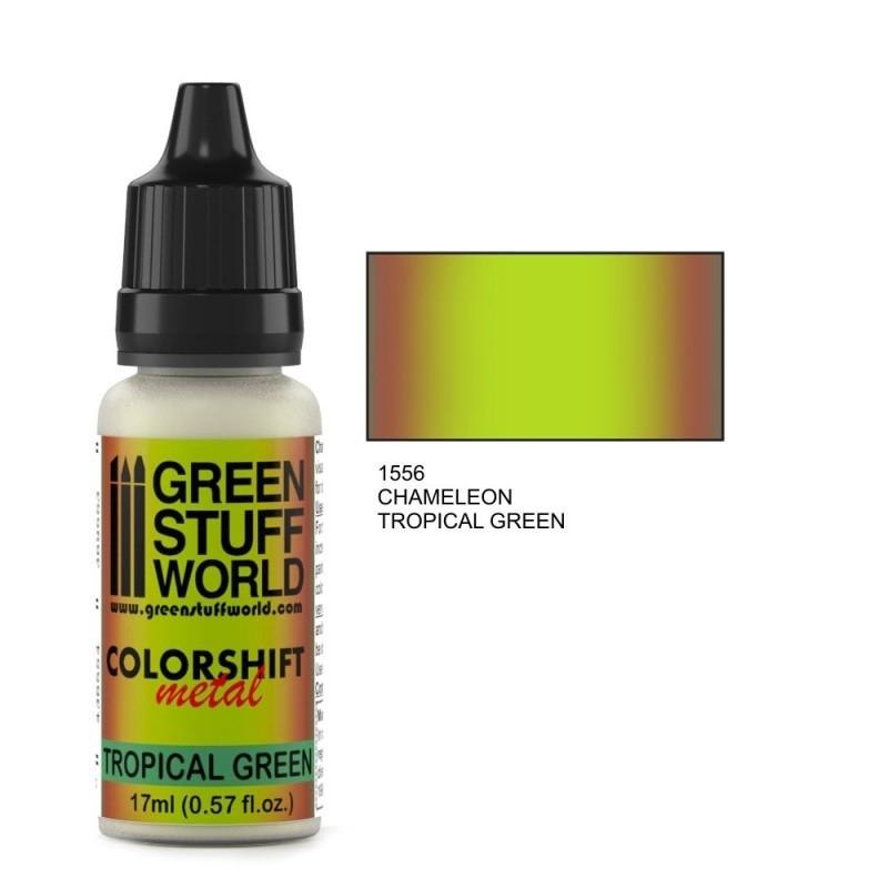 Chameleon Tropical Green Paint