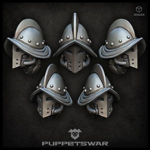 Conquista Knights Helmets