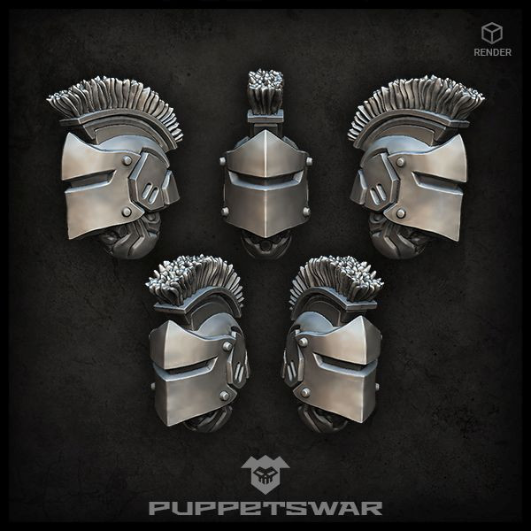 Praetorian Knight Helmets