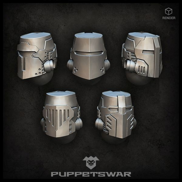 High Crusaders helmets
