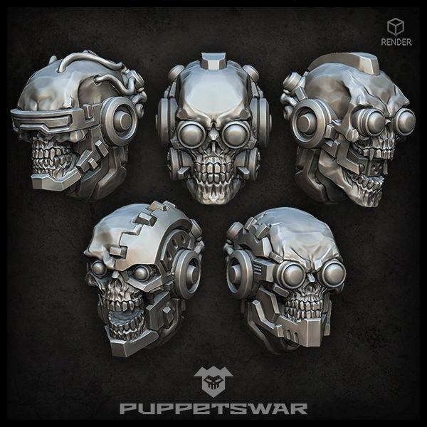 Cyborg Skulls
