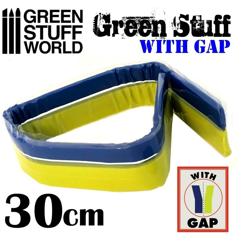 Green Stuff Tape WITH GAP (12 inches)