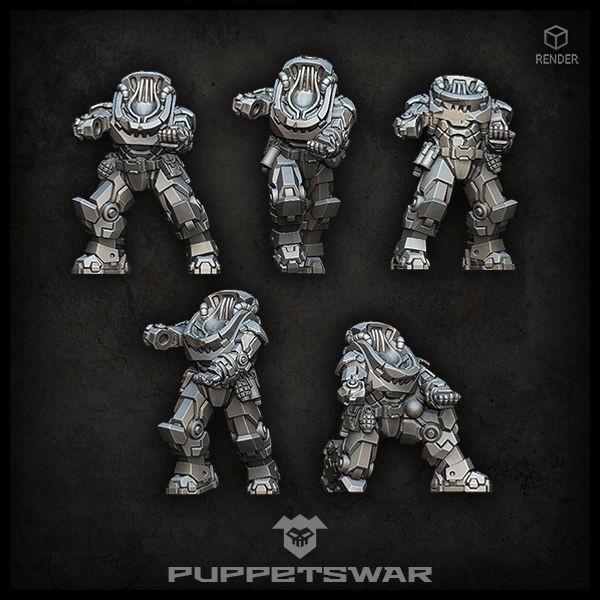 Recon Prime Gunners bodies