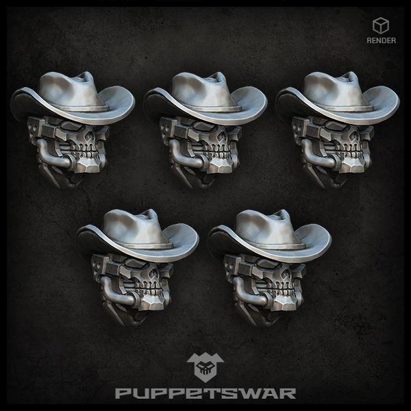 Gunslinger Reaper Heads