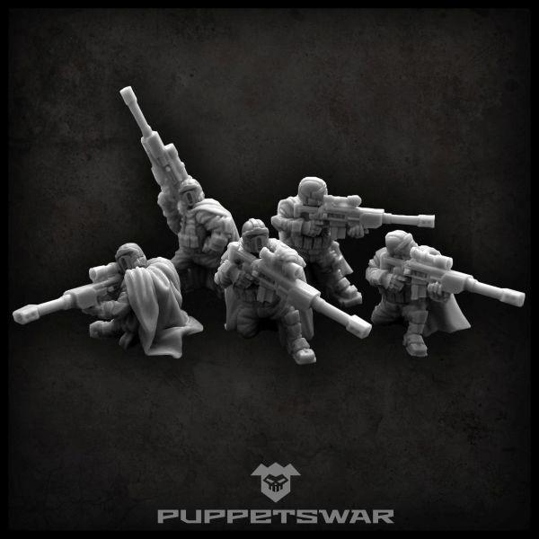 Halfling Sniper Team