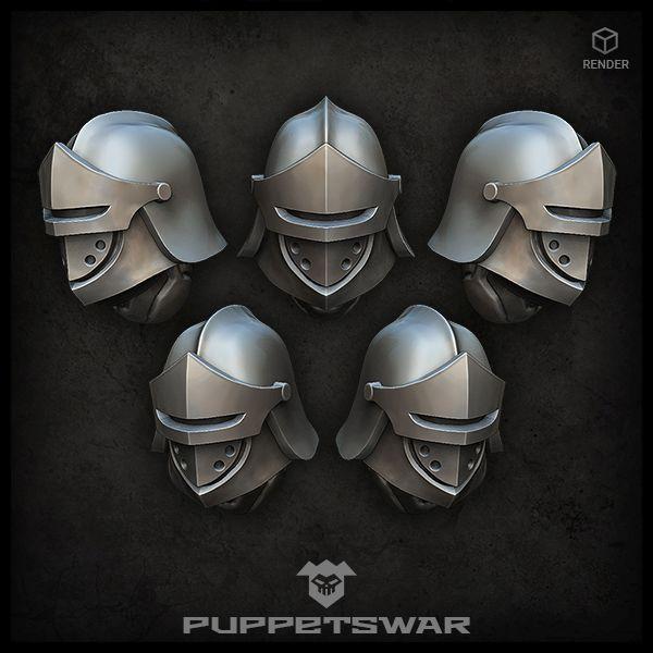 Heavy Sentinel Helmets