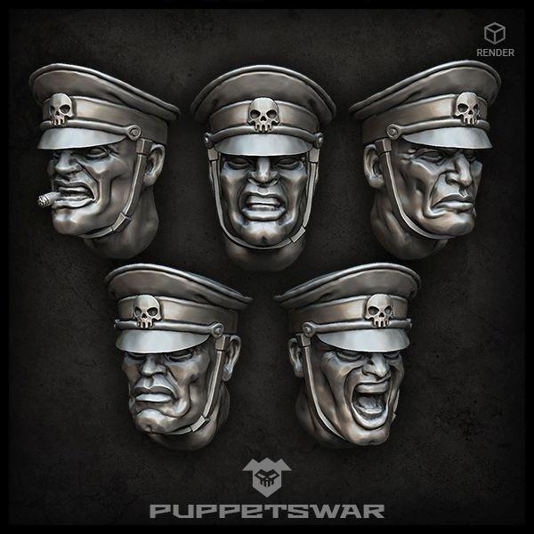 Honour Guard Heads