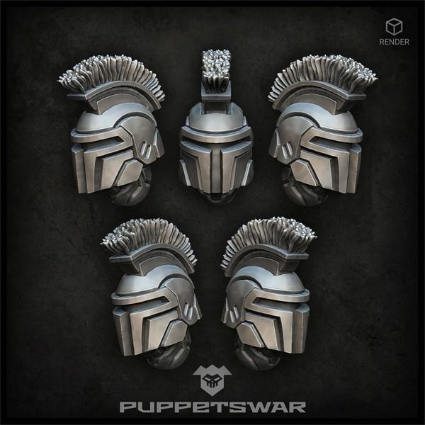 Hunter Praetorian Helmets