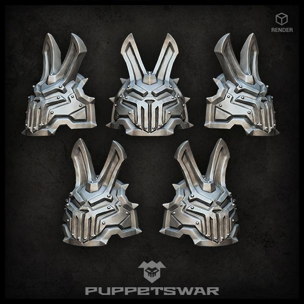 H.I. Iron bunny shoulder pads