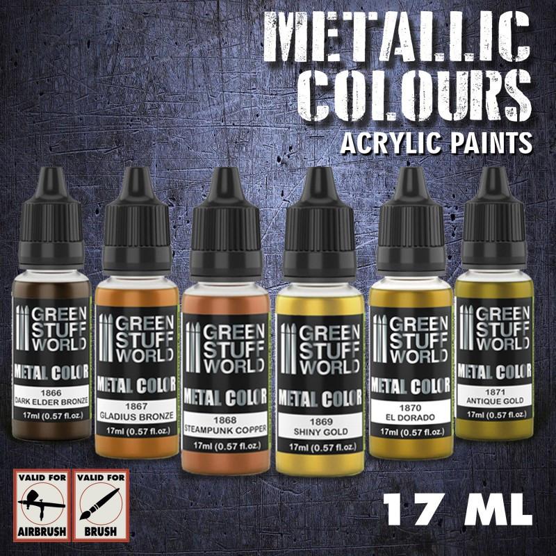 Metallic Paints Set - Gold