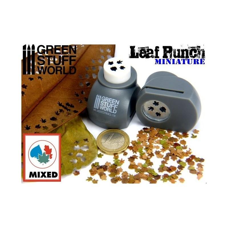 Leaf Punch Grey
