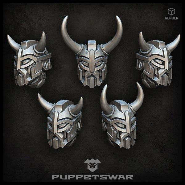 Not Viking helmets