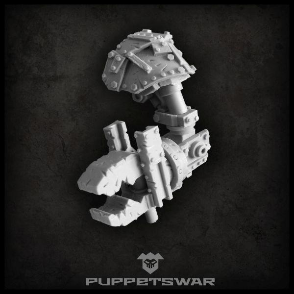 Orc walker Iron Plier arm