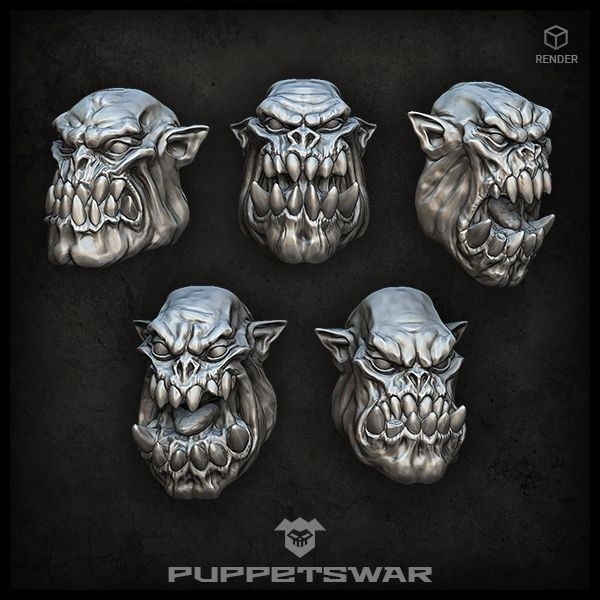 Orc Heads