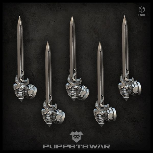 Rapier Swords (right)