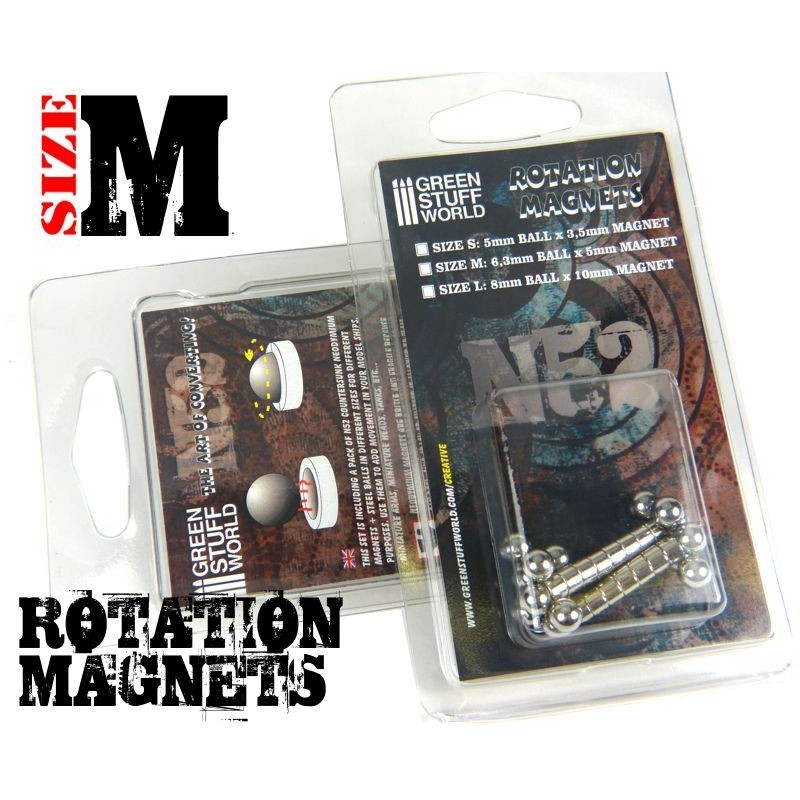 Rotation Magnets Size M