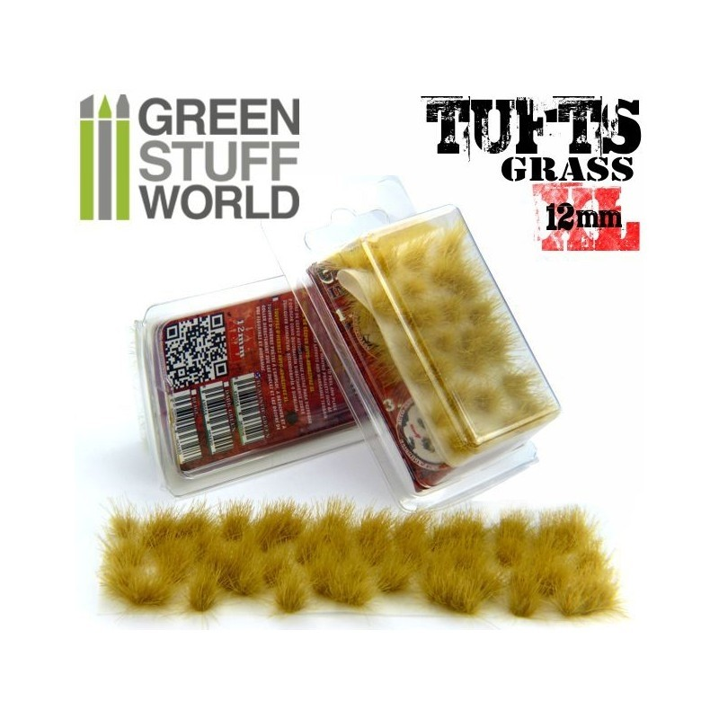 Grass TUFTS - 12mm self-adhesive - BEIGE