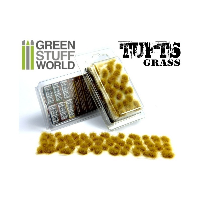 Grass TUFTS - 6mm self-adhesive - BEIGE