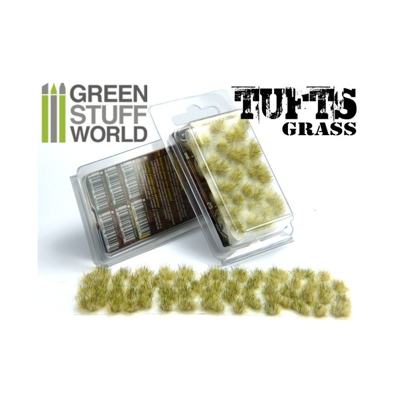 Grass TUFTS - 6mm self-adhesive - winter