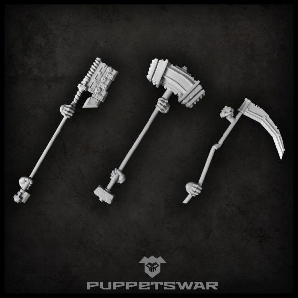 Ogre two-handed weapons