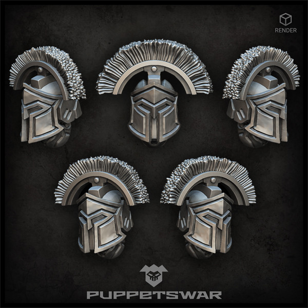 Spartan Centurion Helmets