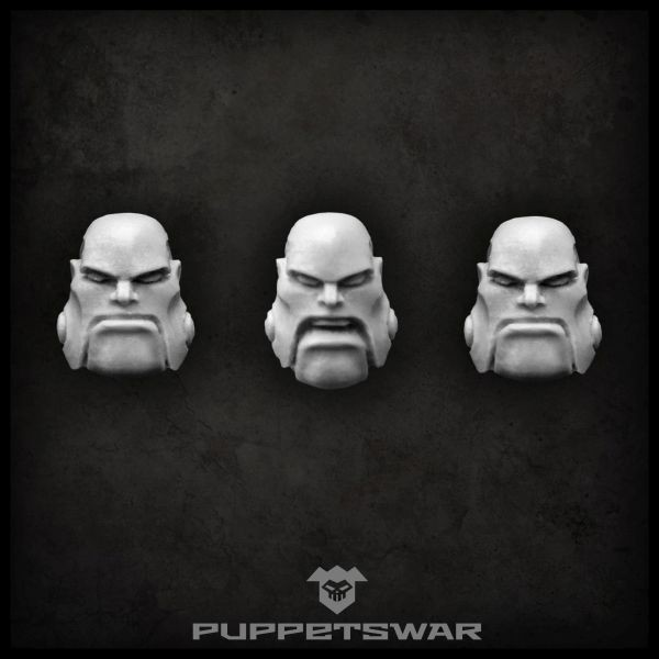 Steam Ogres heads