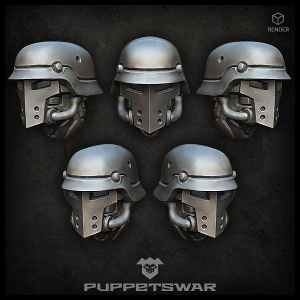 Sturmpioniere Knight Heads