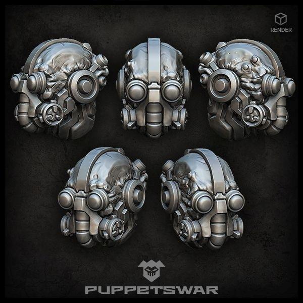Tech Warrior heads