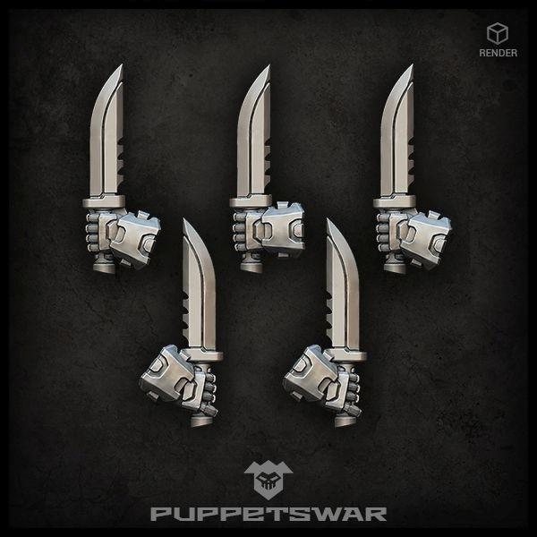 knives (left)
