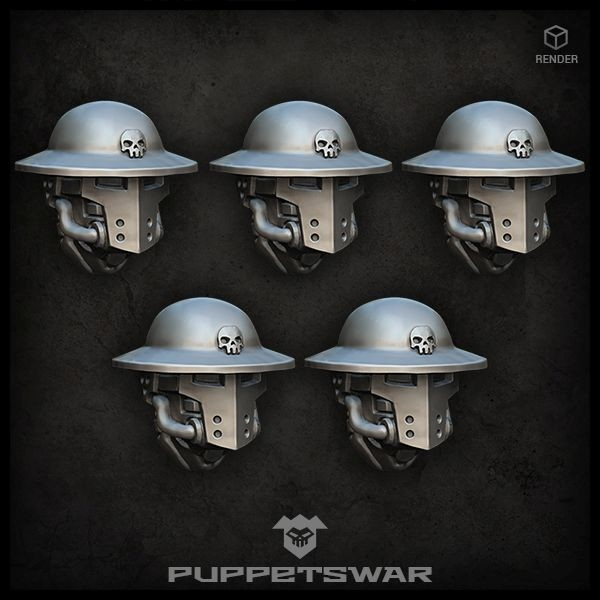 Trench Knight Heads