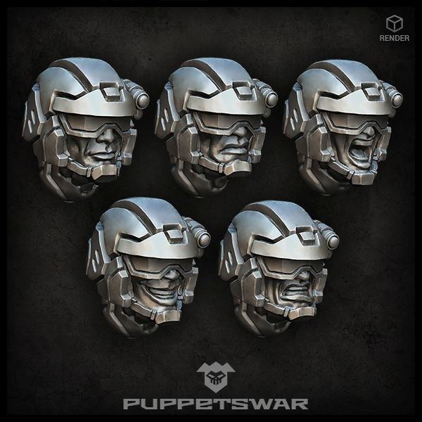 Shade Troopers Heads