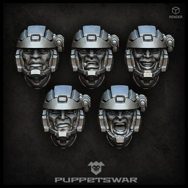 Troopers Heads