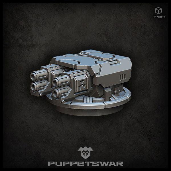 Nuclear Turret MKV
