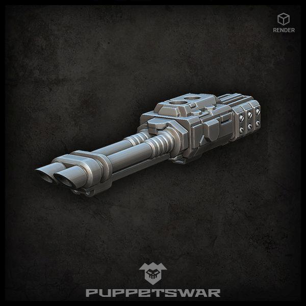 Double Laser Cannon