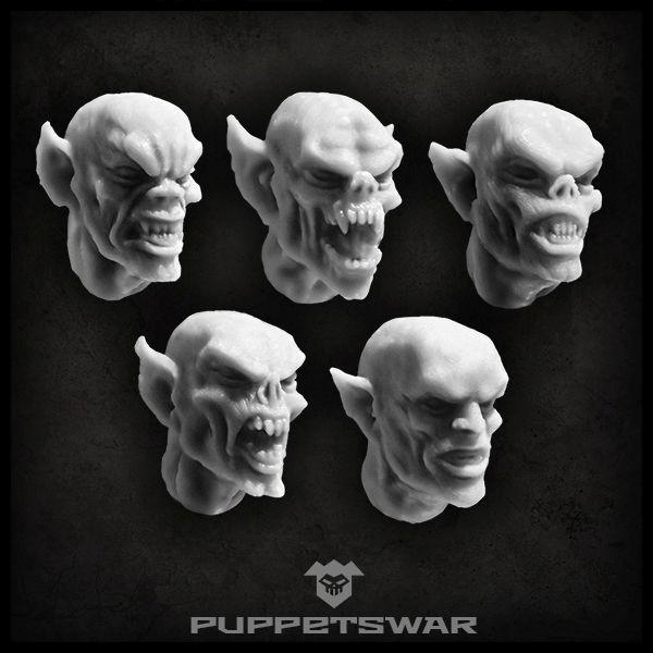 Frenzy Vampire heads