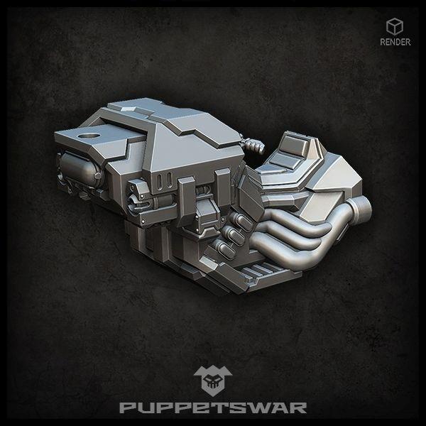 War-steed core MK I