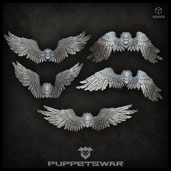 Angel wing-packs