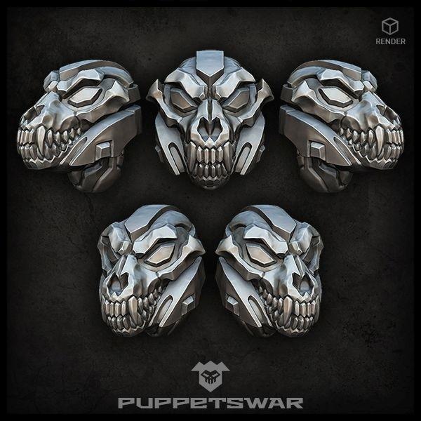 Wolf Reaper Helmets