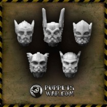 Valhalla Warriors Heads