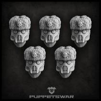Masked Ushanka heads