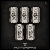 Praetorian shields (left)